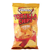 Famoso Tortilla čips cheese 85g