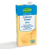 Professional Culinary Cream 20% m.m. 1L